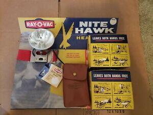1950's-1960's Ray-O-Vac Headlamp Store Display