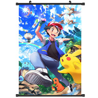 Anime Poster Pokemon Home Decor Wall Scroll Gift collection 40*60cm A2