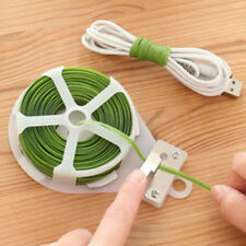 Kitchen Bag Gardening Plant Green Twist Tie Wire Roll  Wire Cutter 100' 100 ft