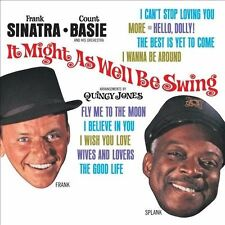 COUNT BASIE/FRANK SINATRA - IT MIGHT AS WELL BE SWING (NEW CD)