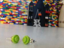 5 Pairs Handmade MonkiStuff Stud Earrings made from LEGO® Bricks Halloween Theme