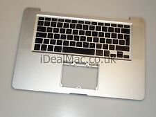 "Apple MacBook Pro 15"" a1286 2008 TOP CASE Poggiapolsi tastiera UK Layout"