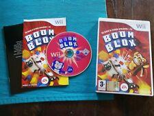 Boom Blox Spielberg Wii Perfetta Edizione Italiana Completo Disco a Specchio