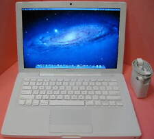 APPLE MACBOOK 2.13 GHZ, 160 GB HD, SUPERDRIVE, 3 GB RAM, OS 10.7, WIRELESS, BT