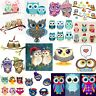 DMC Owls Cross Stitch Embroidery Pattern Chart PDF Home Decor Gift 14 Count