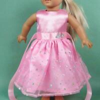 Für 18-Zoll-Puppenkleidung Handgemachtes Puppenkleid-Zubehör K5C7