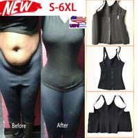 6bb885634e Plus Size Shapewear Fat Burn Weight Loss Slim waist Trainer Body Shaper  Vest New