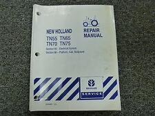 New Holland TN55 TN65 TN70 TN75 Tractor Shop Service Repair Manual 55 & 90