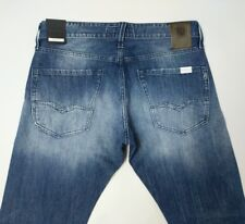 Replay Waitom Mens Jeans Regular Slim Fit Redcast 11.5 Oz Stretch W31 L34 New