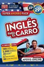 Inglés para el Carro - Audiopack by Aguilar Aguilar (2016, CD / Paperback)