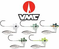 Vmc Spin Jig 3/4 Oz. Swim Jig Underspin Hook Bass Fishing Lure Assorted Colors