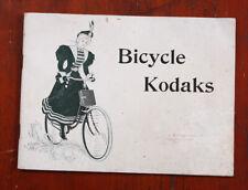 KODAK BICYCLE KODAKS SALES BROCHURE, 1897/cks/208063