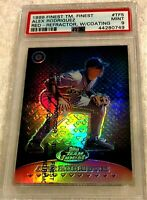 ALEX RODRIGUEZ 1999 TOPPS FINEST RED REFRACTOR SERIAL #03/50 PSA 9 WITH COATING