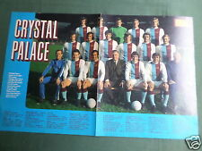 Crystal Palace équipe-centrefold image-magazine Clipping / coupe - # 1