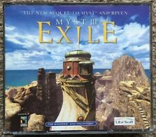 MYST III Exile Old PC Game 4 Discs & Case