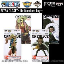 ONE PIECE WCF World Collectable Figure EXTRA CLOSET Re:Members Log ARABASTA set