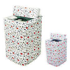 New Floral Waterproof Washing Machine Zippered ATst Cover Protection ATrable AT