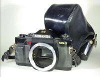 Miranda MS-3 35mm Film SLR Camera with Original Case