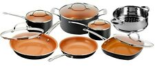 Gotham Steel 12 Piece Nonstick Ceramic Pots and Pans Cookware Set