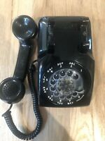 VINTAGE 1965 Western Electric Rotary Telephone L/M 500 Blk Color