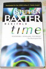 Manifold Time Stephen Baxter PB 2000 Science Fiction Novel Book