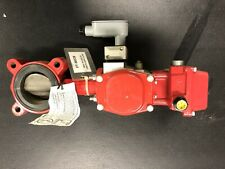 """Bray 50-0406-12610-532 Electric Actuator w/3""""  Lug Butterfly Valve - New Surplus"""