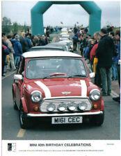 Mini 40th Birthday Celebrations Rover Mini Cooper Press Photo No. P0001669 1999