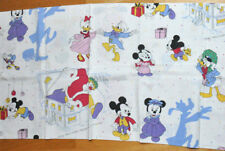 Rare Disney CTI pillowcase bolster Mickey Minnie and friends 1984