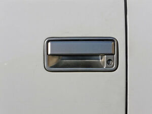 1999-2000 Cadillac Escalade Stainless Steel Brushed Door Handle Cover