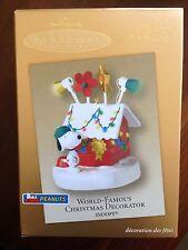 Hallmark 2003 World Famous Decorator Snoopy