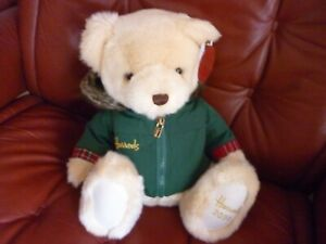 HARRODS 2020 CHRISTMAS BEAR NICHOLAS NEW LABELLED SOLD OUT