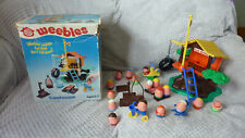 VINTAGE 1970'S AIRFIX WEEBLE TREEHOUSE. BOXED, COMPLETE + EXTRA WEEBLES