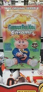 GARBAGE PAIL KIDS CHROME 1986 ORIGINAL SERIES 3 SEALED HOBBY BOX