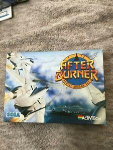 Amiga Afterburner game by Activision