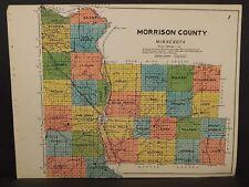 Minnesota Morrison County Map c.1920 U1#81