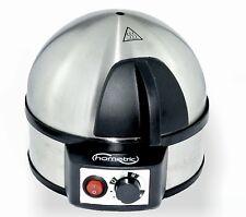 Hometric Stainless Steel Electric Egg Boiler cooker Soft Med hard 7 Eggs 400W