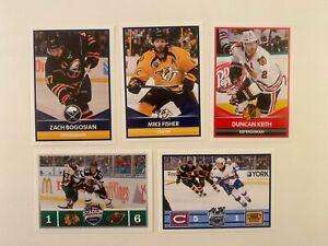 2016-17 NHL Panini Sticker x5 Fisher Bogosian Keith Winter Classic Stadium Serie