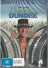 Crocodile Dundee DVD 1986 & All Region Paul Hogan Linda Kozlowski