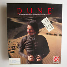 DUNE Virgin Games 1992 Vintage PC Game Big Box Limited Edition with Poster