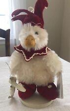 Hallmark Bunnies By The Bay Christmas Emmett Axel Ice Skater Duck Plush NWT