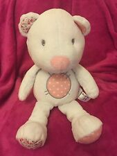 Kiddicare with love Bear Soft Toy White 13""