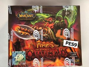 WOW TCG - Factory sealed English Fires of Outland booster box - Spectral Tiger?