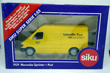 Mercedes Sprinter - Post / EMS Versand - SIKU 1929 - SIKU Super Series - NEU
