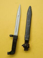 Bayonet /Scabbard With Belt Hanger * Style / Type Used In Vietnam *
