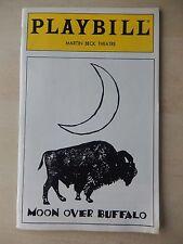 April 1996 - Martin Beck Theatre Playbill - Moon Over Buffalo - Robert Goulet