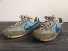 NIKE Trainers OCEANIA Vintage 80s Running Sneakers Shoes Blue Waffle Women Sz 8