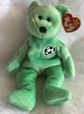 TY Beanie Baby Kicks the Bear 1998 Rare With Tag Error