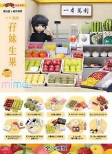 Mimo Miniature T for Candy Fruit and Gift Set re-ment size Full set of 10