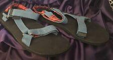 BRAND NEW Teva Original Universal Sandal Blue/Red Plaid 1008629 Men's size 13
