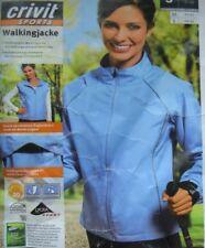 Walkingjacke Damenjacke Jacke Damen Laufen Fitness Sport türkis blau Gr. S 36/38